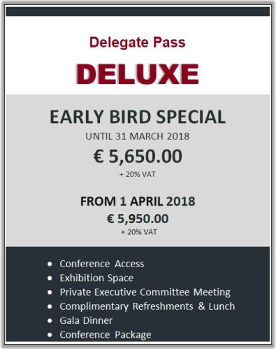 Delegate Pass - DELUXE