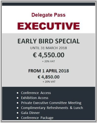 Delegate Pass - EXECUTIVE