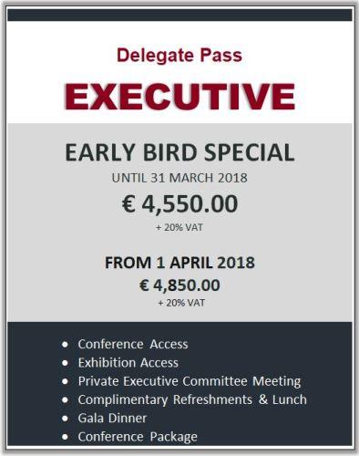 Delegate Pass - EXECUTIVE